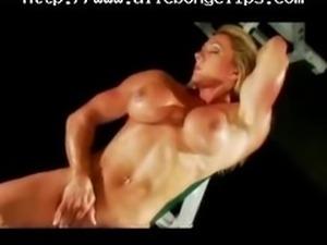 Big Clit Bodybuilder 13  Lez black ebony cumshots ebony swallow interracial