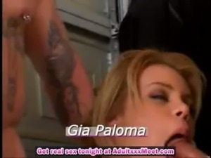 Gia has a hard job free