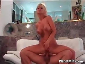 Adorable blonde floozy with massive part5