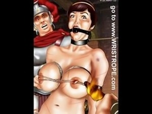 Huge Breast Bondage Artwork
