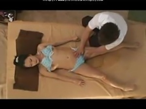 The Young Wife's Massage In The Beachhouseshort Version asian cumshots asian...