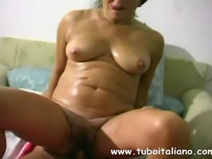 Italian BBW Amateur Wife Moglie IT