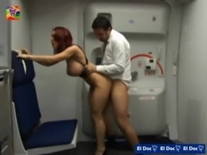 Kylee Strutt - Tits on a plane  ... free