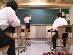 Junna Aoki Hot Japanese teacher part2