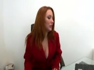Redhead Rebecca Lane ad a student