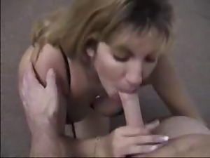 Blonde housewife likes sucking it before ass fucking it hard