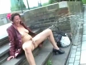 Upskirt public masturbation and nude outdoor flashing of uk mature amateur free