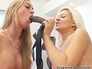 Strapon lesbians  Aline