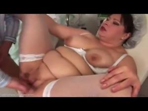 fat nurse takes it in the ass
