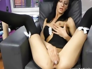 Jb HotKinkyJo - Black widow anal orgasm movie