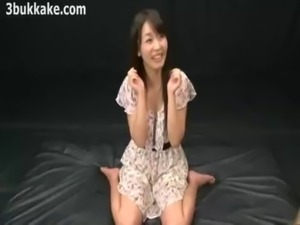 Beautiful Asian Bukkake #30 free