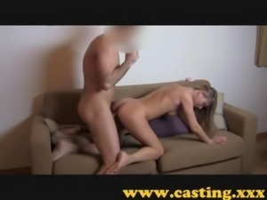 Casting - Fit girl loves the cock free