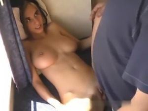 Natural amateur bombshell fucked free