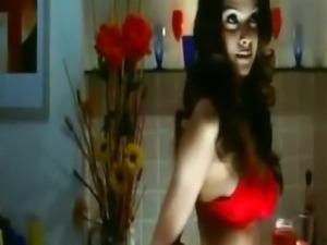 Sherlyn Chopra - Red Swastik
