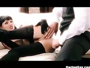 Asian Teen Kita Zan Takes on a Father and Son