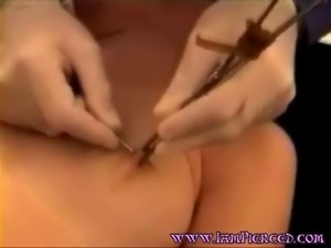 Piercing both nipples Body piercing fetish and fascination