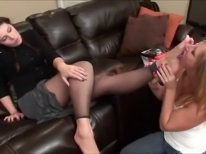Catholic Girl Foot Worshiped and Tickled