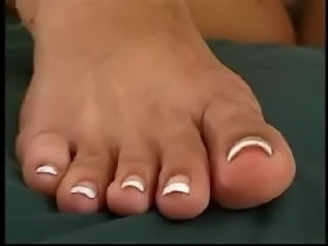 foot fetish toe sucking