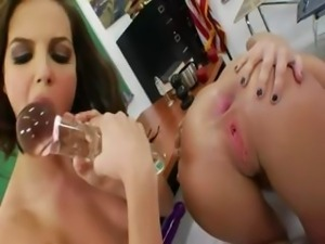 Insane babysitters licking rosebutts