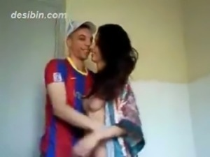 Beautiful young Arab lady getting fucked by her boyfriend free