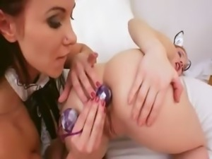 brutally hardcore anal playing