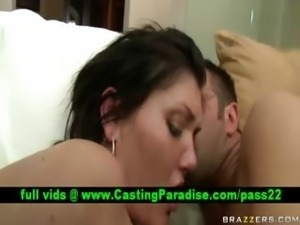 Claire Dames brunette and fucking and gets cumshoot