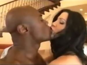 Rebeca Linares fucked by a black guy