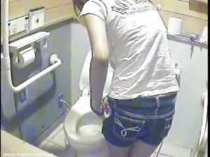 Toilet girls exposed on camera spy free