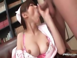 Lovely Japanese nurse loves fucking part3