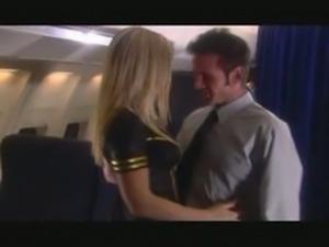 Avy Scott fucking in a plane
