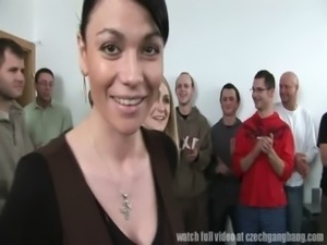 Massacre!! 120 Guys Gangbanged two czech sluts free