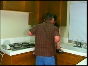 Latina Hangs Her Tits In Front Of Plumber...What's Next?