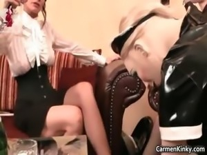 Nasty dude gets pissed on ad anal fucked part3