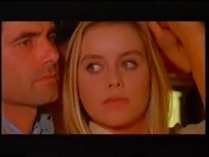 Gloria Guida with Nino Castellano in a bus in the film Quella et