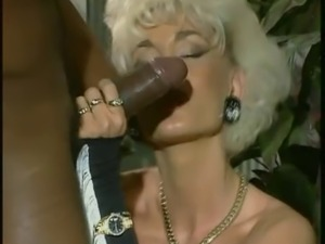 Dolly Buster-MILF Fucked By 2 Black Cocks