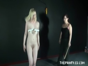 Satines Lesbian Punishment and Humiliating Workout Spanking free