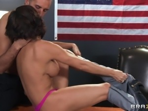 upskirt milf getting fucked on table