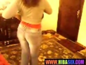 Arab Egyptian whore wife dancing dirty dance hibasexcom