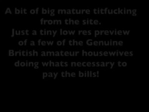 Big mature tits compilation free