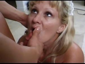 Mature Maid Lynn Ross Fucks Younger Guy