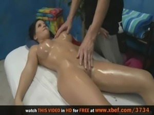 Amazing oiled body, with big beautiful tits free