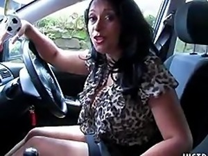 Sexy Danica Getting Directions