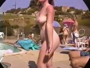Hairy Pussies At The Pool Party