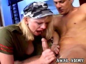 Hayley rivers is an anal army whore