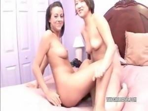 Lesbian coeds Chaydin and Jackie
