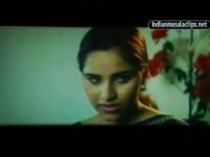 Reshma Mallu Blue saree