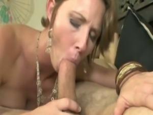 Cocksucking mature pounded hard