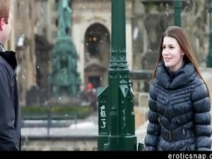 Czech beauty passionately fucks her boyfriend