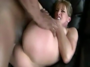 This slut gets filled with hard dick from her black guy free