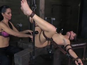tied and used like a sex toy